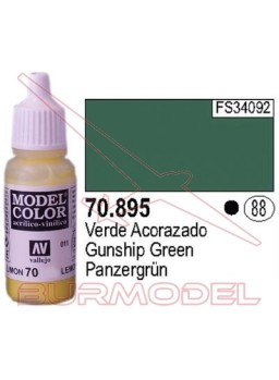 Pintura Verde acorazado 895 Model Color (088)