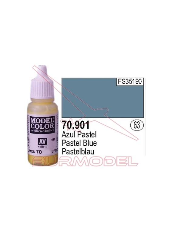 Pintura Azul pastel 901 Model Color (063)