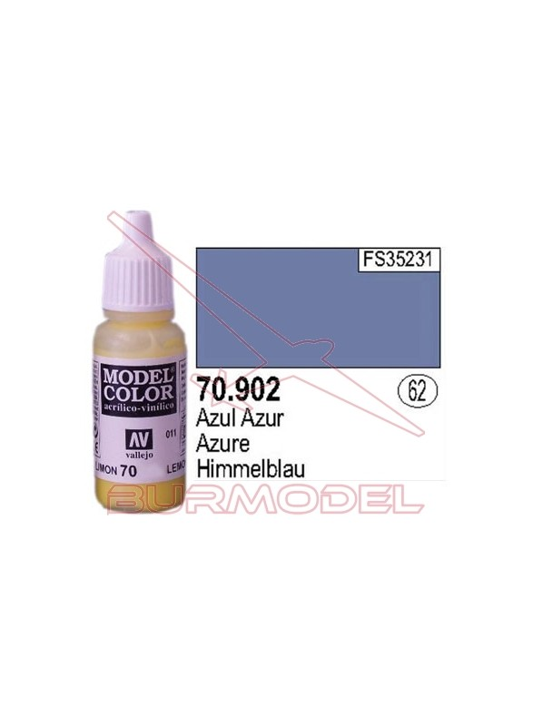 Pintura Azul azur 902 Model Color (062)