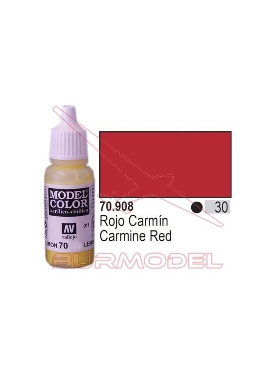 Pintura Rojo carmín 908 Model Color (030)