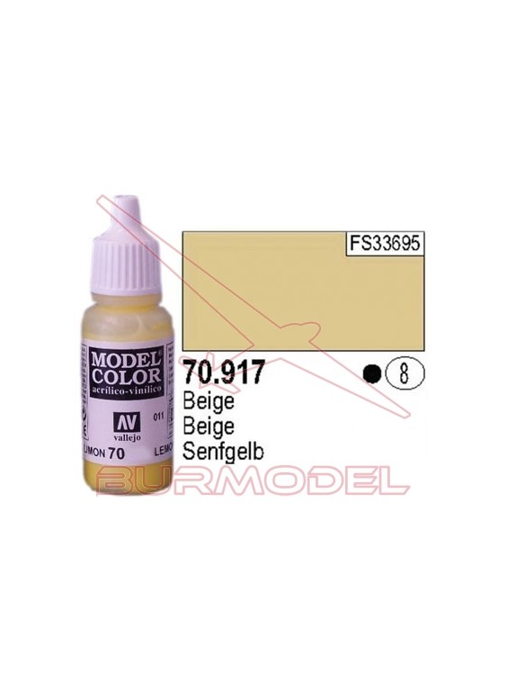 Pintura Beige 917 Model Color (008)