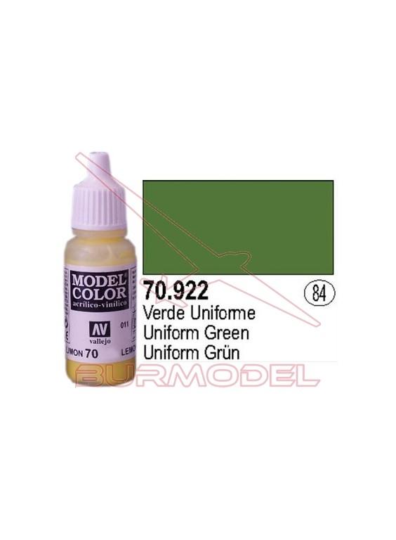 Pintura Verde uniforme 922 Model Color (084)