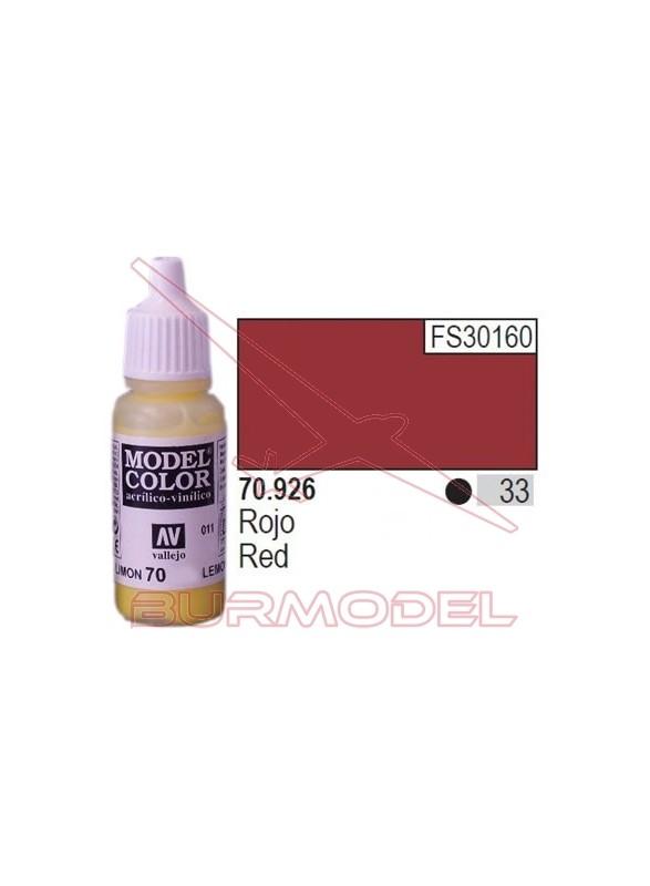Pintura Rojo 926 Model Color (033)