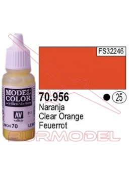 Pintura Naranja 956 Model Color (025)