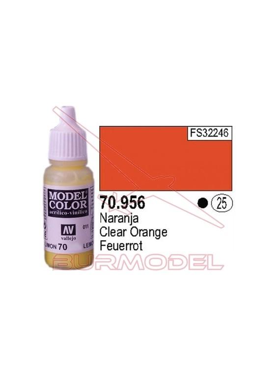 Pintura Naranja 956 Model Color (025)