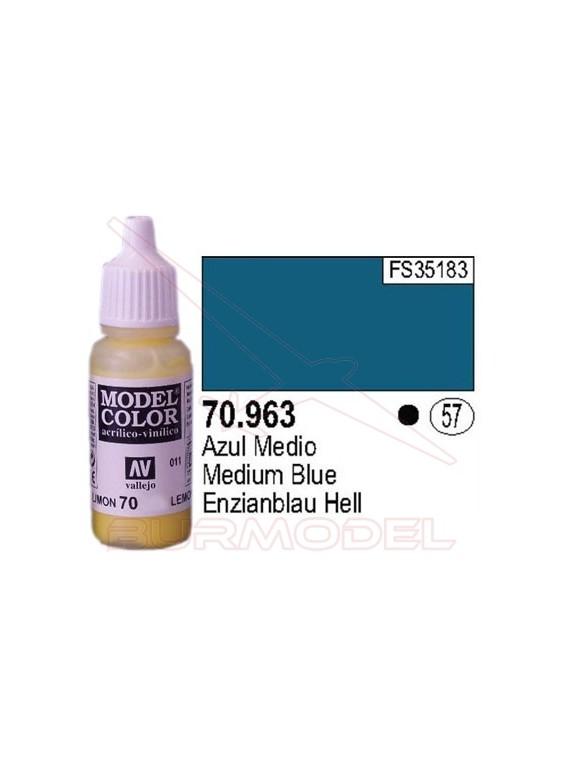 Pintura Azul Medio 963 Model Color (057)
