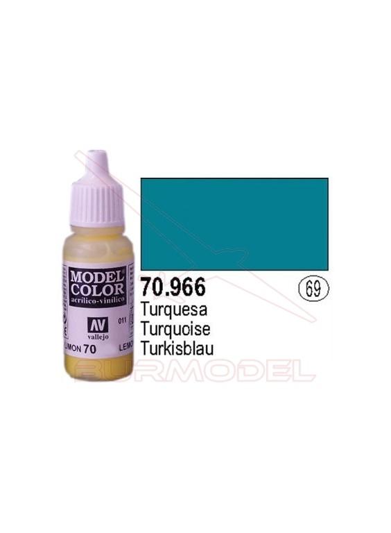 Pintura Turquesa 966 Model Color (069)