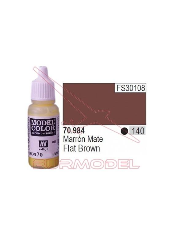 Pintura Marrón mate 984 Model Color (140)