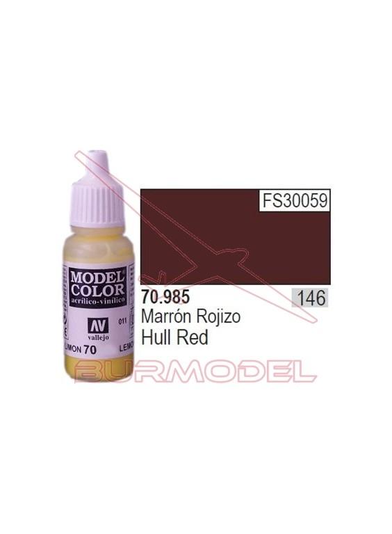 Pintura Marrón rojizo 985 Model Color (146)