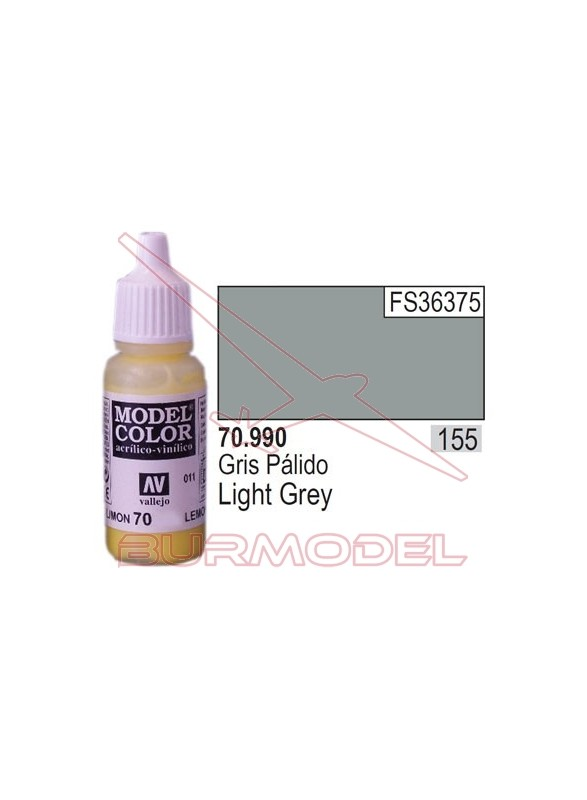 Pintura Gris pálido 990 Model Color (155)