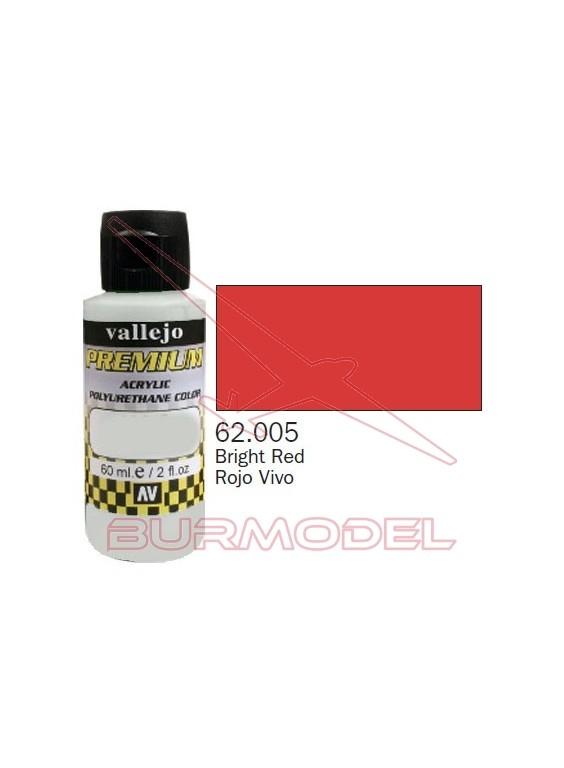 Pintura Premium Vallejo Rojo vivo