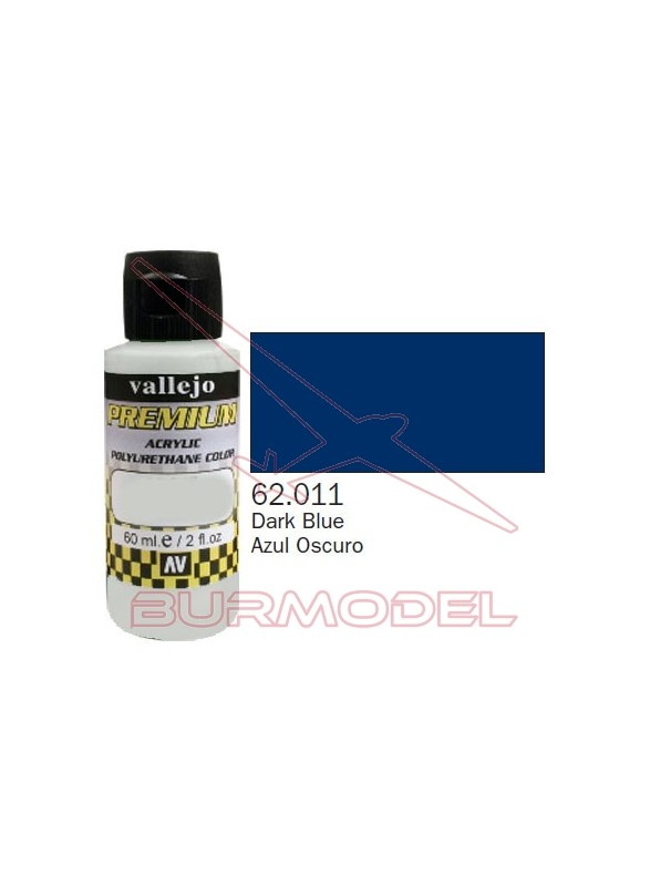 Pintura Premium Vallejo Azul Oscuro