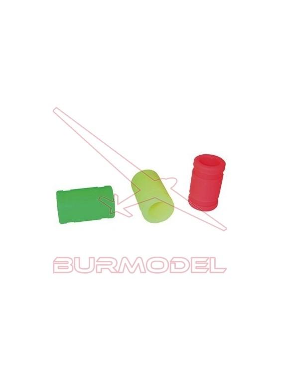 Junta silicona unión tubo escape