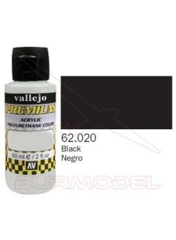 Pintura Premium Vallejo Negra