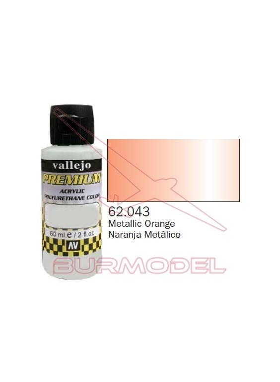 Pintura Premium Vallejo Naranja metálico