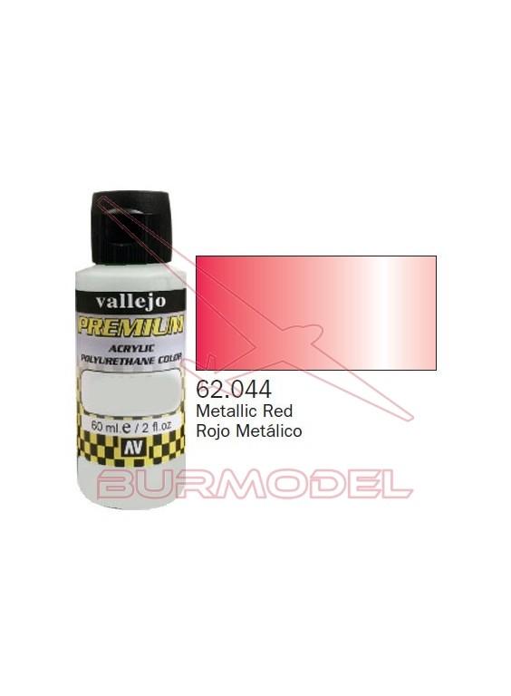 Pintura Premium Vallejo Rojo metálico