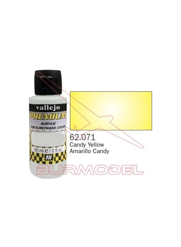 Pintura Premium Vallejo Amarillo transparente