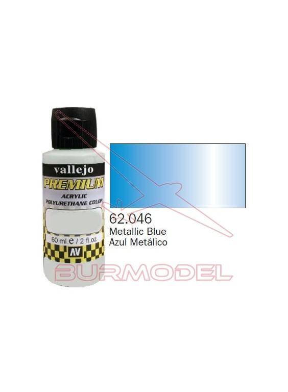 Pintura Premium Vallejo Azul metálico