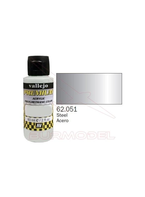 Pintura Premium Vallejo Acero