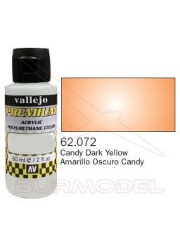 Pintura Premium Vallejo Amarillo Osc. transparente