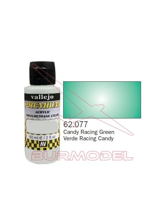 Pintura Premium Vallejo Verde Racing transparente