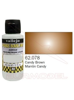 Pintura Premium Vallejo Marrón transparente