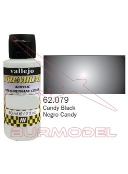 Pintura Premium Vallejo Negro transparente