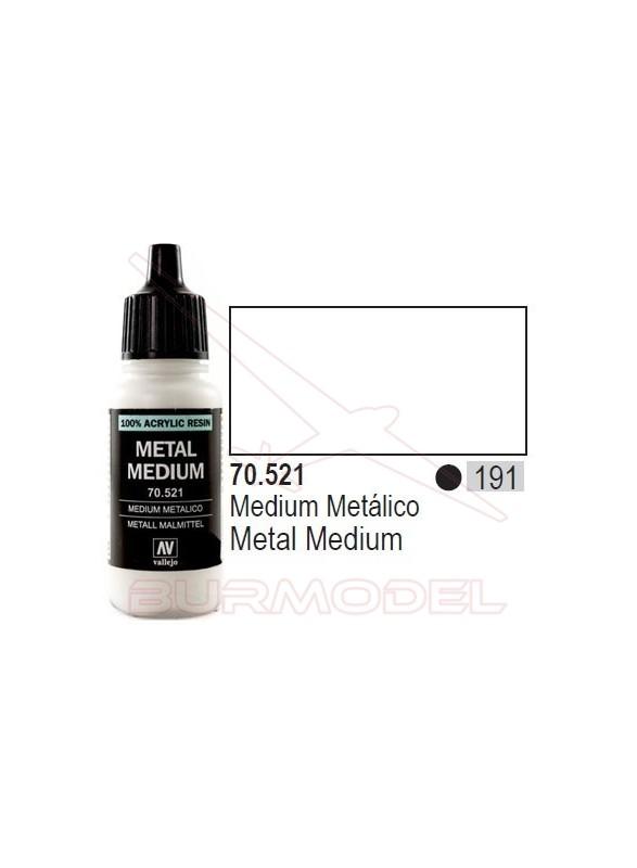 Medium Metálico 521 Model Color (191)