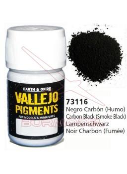 Pigmento Vallejo Negro carbón humo
