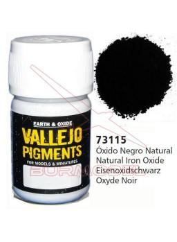 Pigmento Vallejo Óxido negro natural