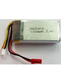 Batería 7.4 V 1250 mAh para Walkera 62053