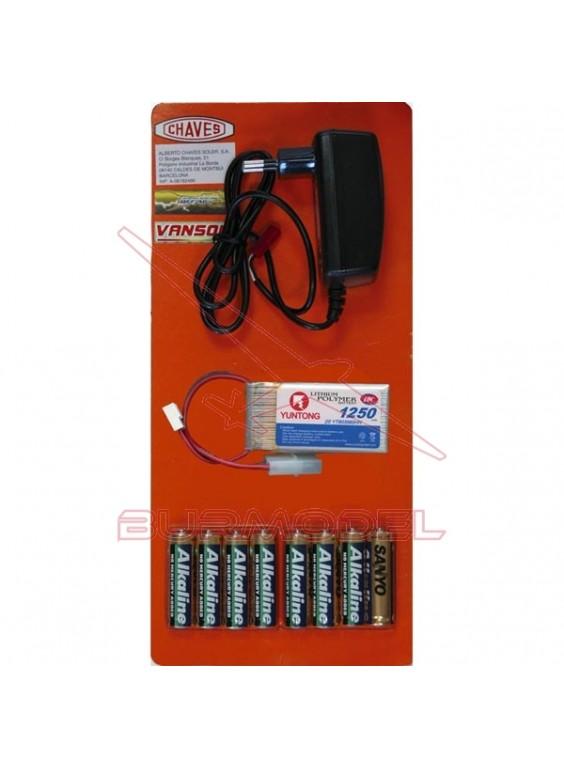 Kit eléctrico Helicópteros Bat litio