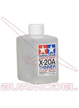 Disolvente X-20A pintura acrílica 250 ml