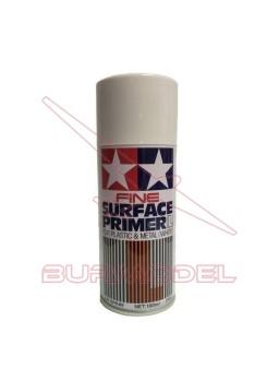 Imprimación blanca en spray para plástico y metal