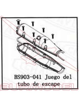 Tubo de escape BSD Racing