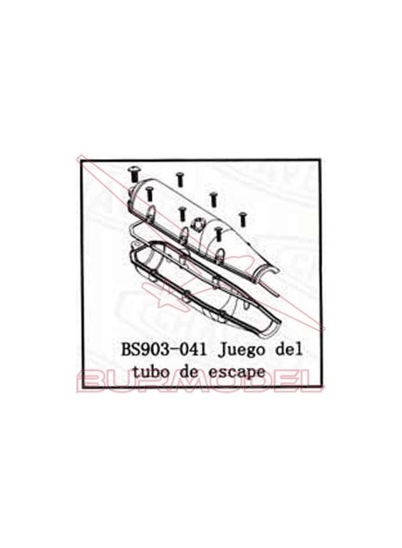 Tubo de escape BSD Racing