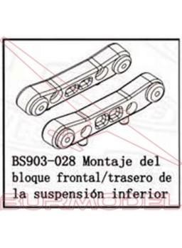 Barra suspensión delantera BSD Racing elect/comb.