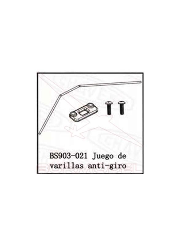Barra antivuelco BSD Racing combustible