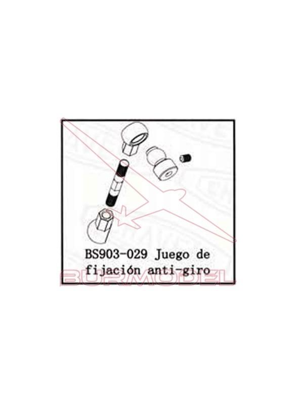 Jgo. de fijación antigiro BSD Racing