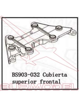 Cubierta superior frontal BSD Racing
