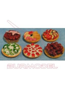Platos con tartas (6 unidades)