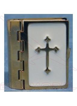 Biblia con páginas impresas