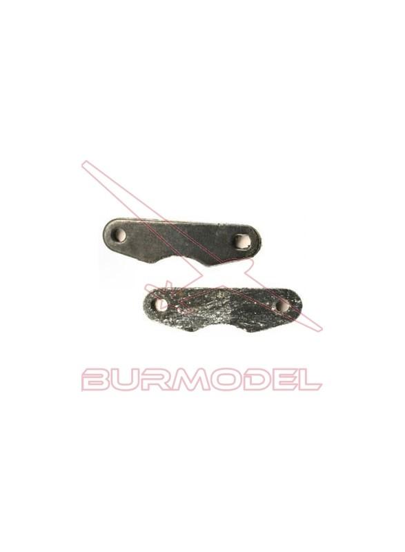 Pastillas y placas metálicas de freno Kaos DT-19