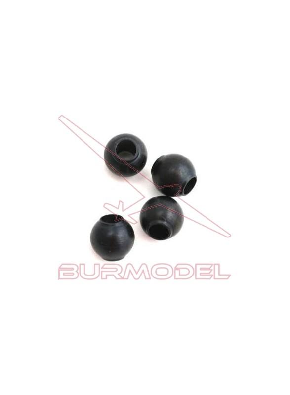 Bolas rótula amortiguador 6.8mm Hyper 7